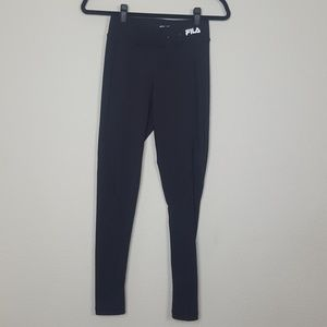 FILA》 Run legging with zipper detail
